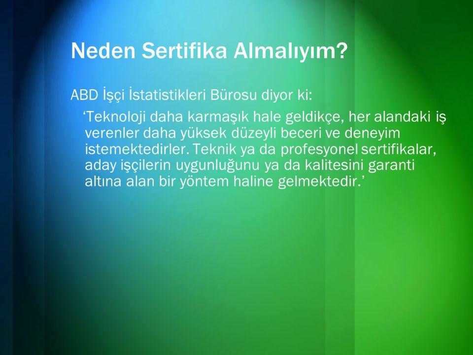 Microsoft Türkiye Eğitim Organizasyonu •CTEC – Microsoft Yetkili Teknik Eğitim Merkezleri CTEC'ler bireylere, çalışanlara ve bilişim teknolojileri profesyonellerine yüksek standartta eğitim vermek üzere Microsoft tarafından yetkilendirilmiş teknik eğitim şirketleridir.