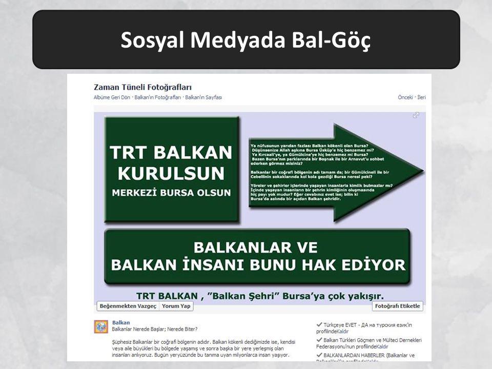 Sosyal Medyada Bal-Göç