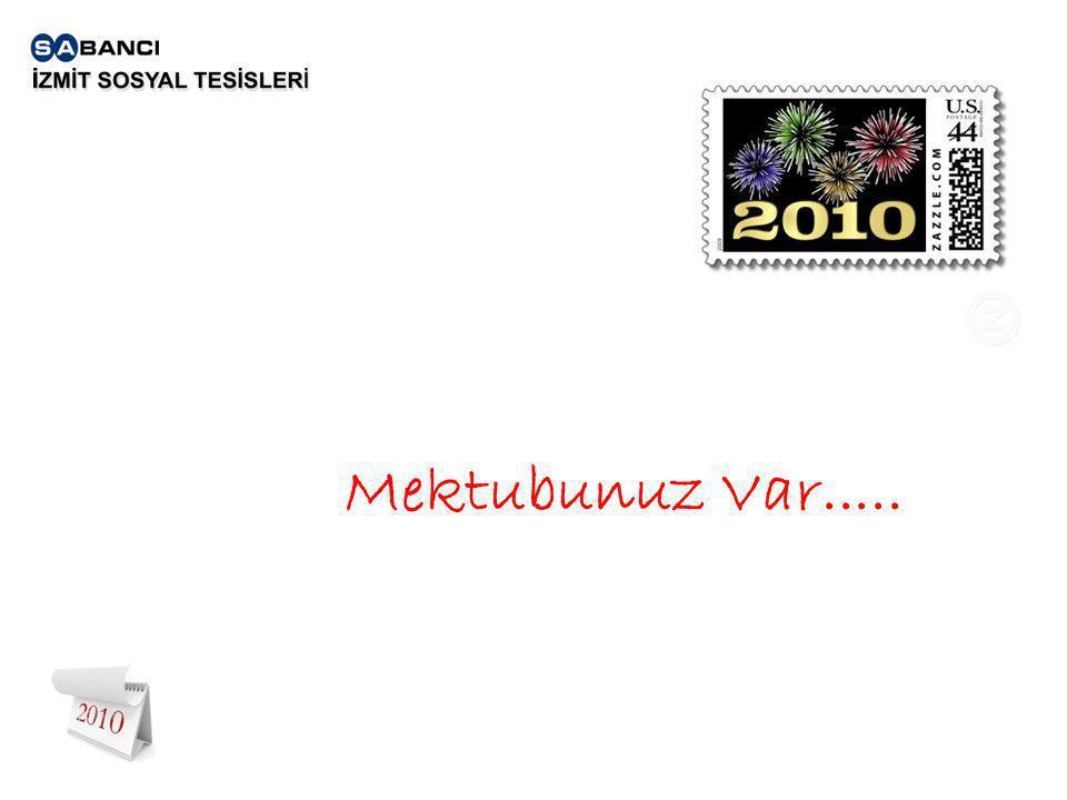 Mektubunuz Var.....