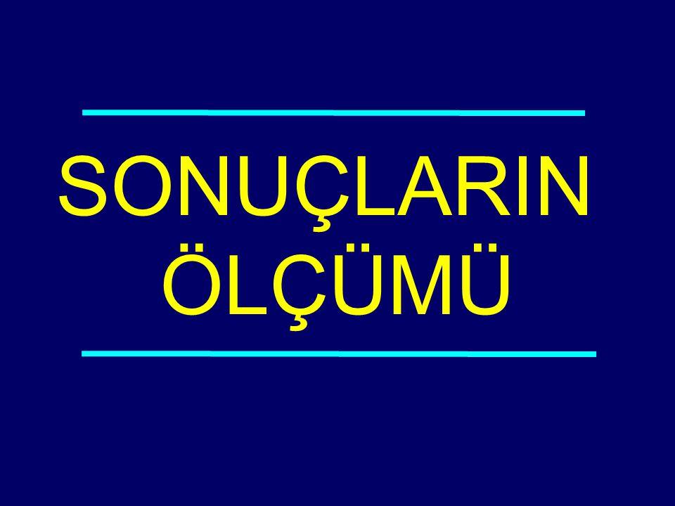 SONUÇLARIN ÖLÇÜMÜ 03-116