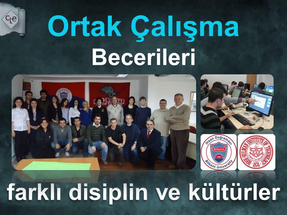 farklı disiplin ve kültürler Ortak Çalışma Becerileri
