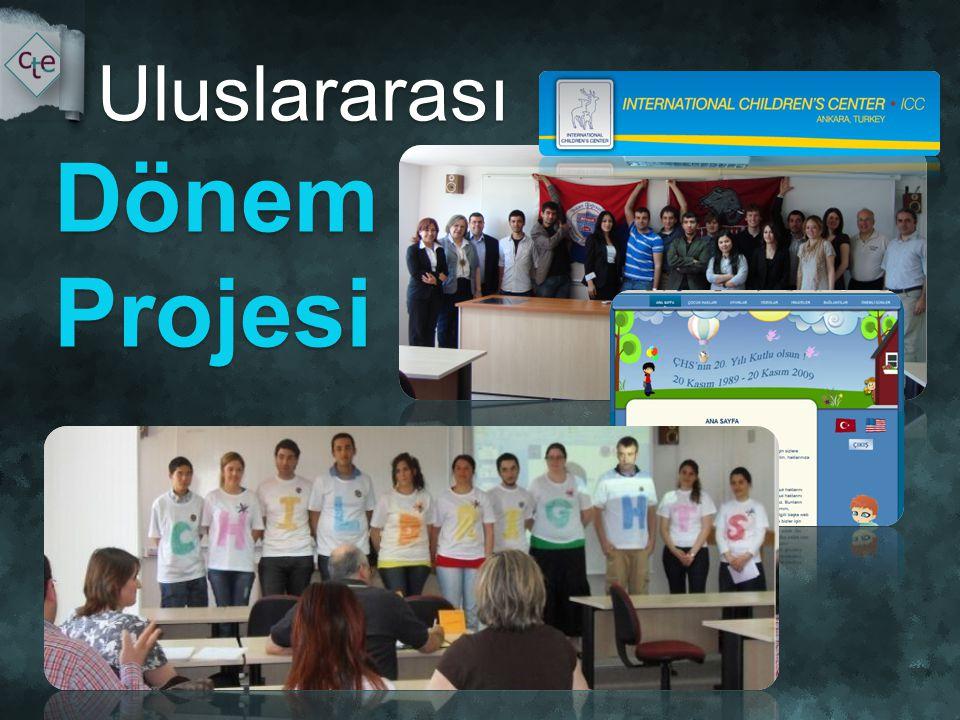 Uluslararası Dönem Projesi