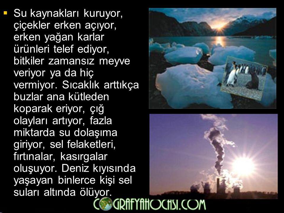 SINIRLILIKLARI  Maliyeti yüksek  Çevreyi temizlenemez şekilde kirletme olasılığı vardır •