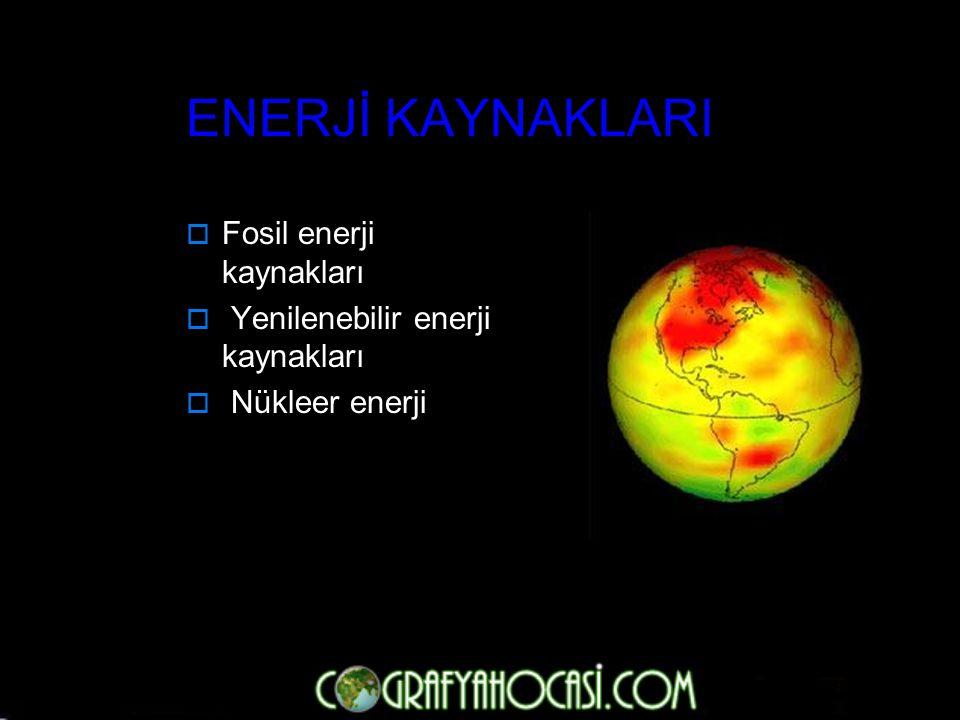 Enerji iş yapma yeteneğidir ve bir türden diğerine, bir şekilden diğerine dönüştürülebilir. Mekanik Enerji: Isı Enerjisi Kimyasal Enerji Nükleer Enerj
