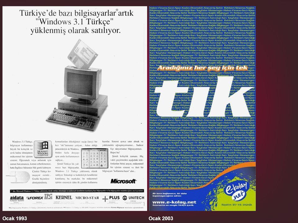 Ocak 1993Ocak 2003
