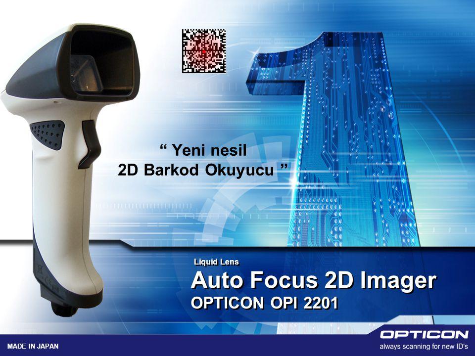 "LOGO Auto Focus 2D Imager "" Yeni nesil 2D Barkod Okuyucu "" OPTICON OPI 2201 MADE IN JAPAN Liquid Lens"