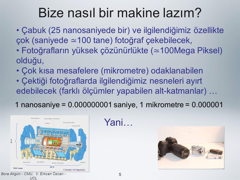 Bora Akgün - CMU, V.Erkcan Özcan - UCL 5 Bize nasıl bir makine lazım.