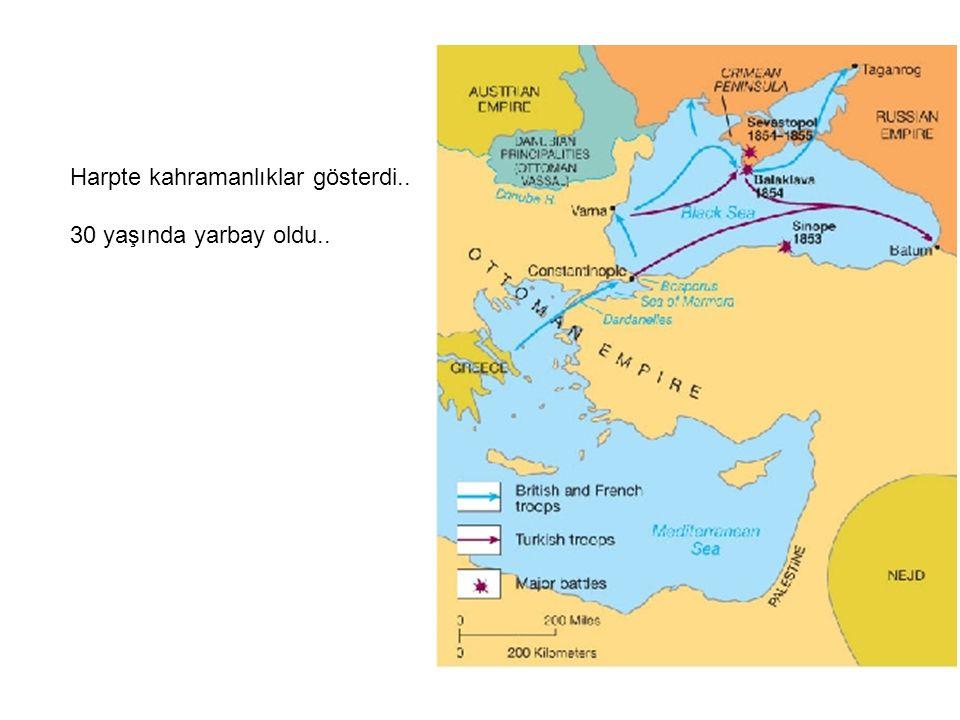 1861 ve 1862 Hersek ve Karadağlılarla savaştı..