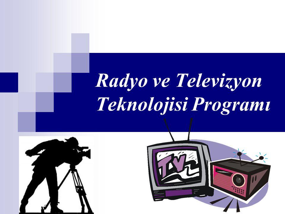 Muğla Meslek Yüksekokulu x Görsel-İşitsel Teknikler ve Medya Yapımcılığı Bölümü Radyo ve Televizyon Teknolojileri Programı Basım Yayım Teknolojileri Programı