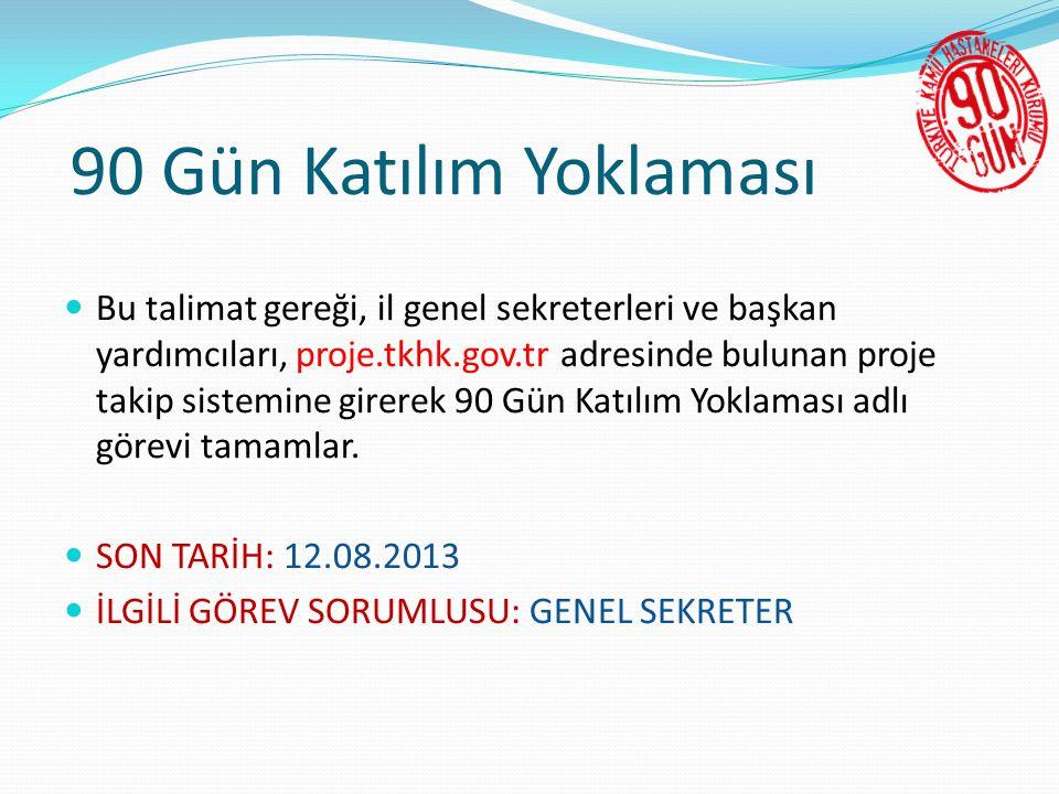  İstanbul Fatih Genel Sekreterliği'ne, Genel Sekreterlikçe belirlenen 2 (İki) tarihte ortak çalışma için ziyaret gerçekleştirilecektir.