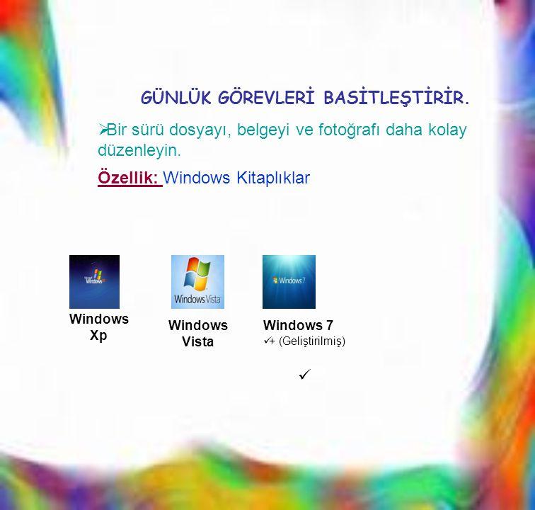 BBir sürü dosyayı, belgeyi ve fotoğrafı daha kolay düzenleyin. Windows Xp Windows Vista Windows 7  + (Geliştirilmiş)  GÜNLÜK GÖREVLERİ BASİTLEŞTİR