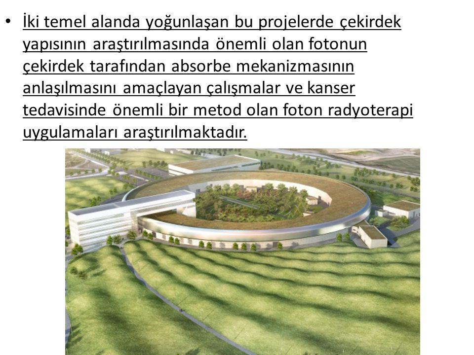 • İki temel alanda yoğunlaşan bu projelerde çekirdek yapısının araştırılmasında önemli olan fotonun çekirdek tarafından absorbe mekanizmasının anlaşıl