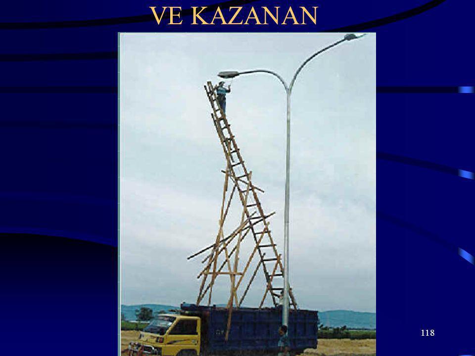 118 VE KAZANAN