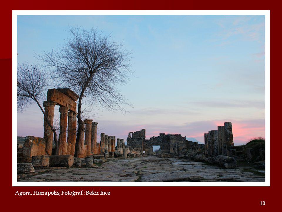 10 Agora, Hierapolis, Fotoğraf : Bekir İnce