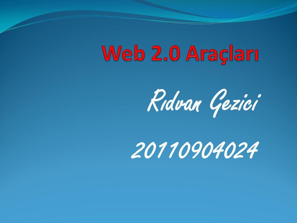  Web 2.0 nedir .