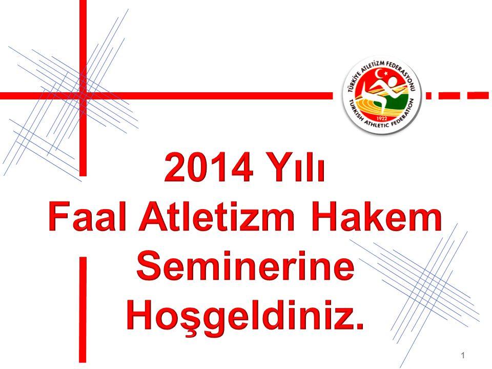 Fatih Çintimar Atletizm Federasyonu Başkanı 2014 Faaliyet Sezonunda Tüm Hakem Arkadaşlarıma Başarılar Dilerim.
