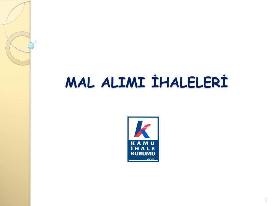 MAL ALIMI İHALELERİ 1