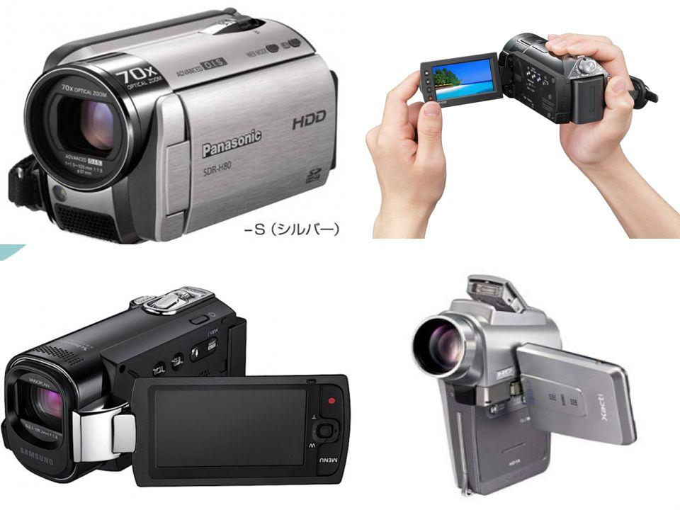  Yapılan çekimler CD' lere veya kameraların kasetlerine yapılır.  Ayrıca dijital kameralar fotoğrafta çekebilir.  Dijital kameraların belleklerini
