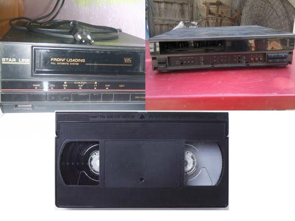 VİDEO  Video kasetlerinin gösterilmesini sağlayan araçtır.  Gelişen teknoloji ile önemini kaybetmiş yerini DVD ve VCD oynatıcılara bırakmıştır.