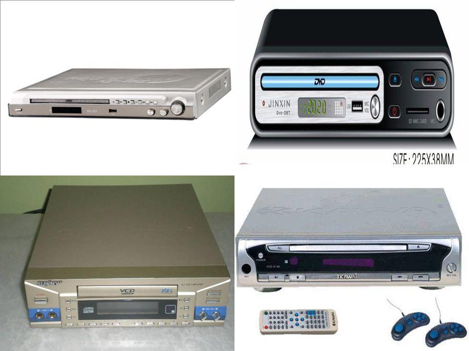 VCD,DVD  Son yıllarda CD ve DVD kayıtları nedeni ile önemi iyice artmıştır.  Film video izleme, müzik dinleme olanakları sunar.