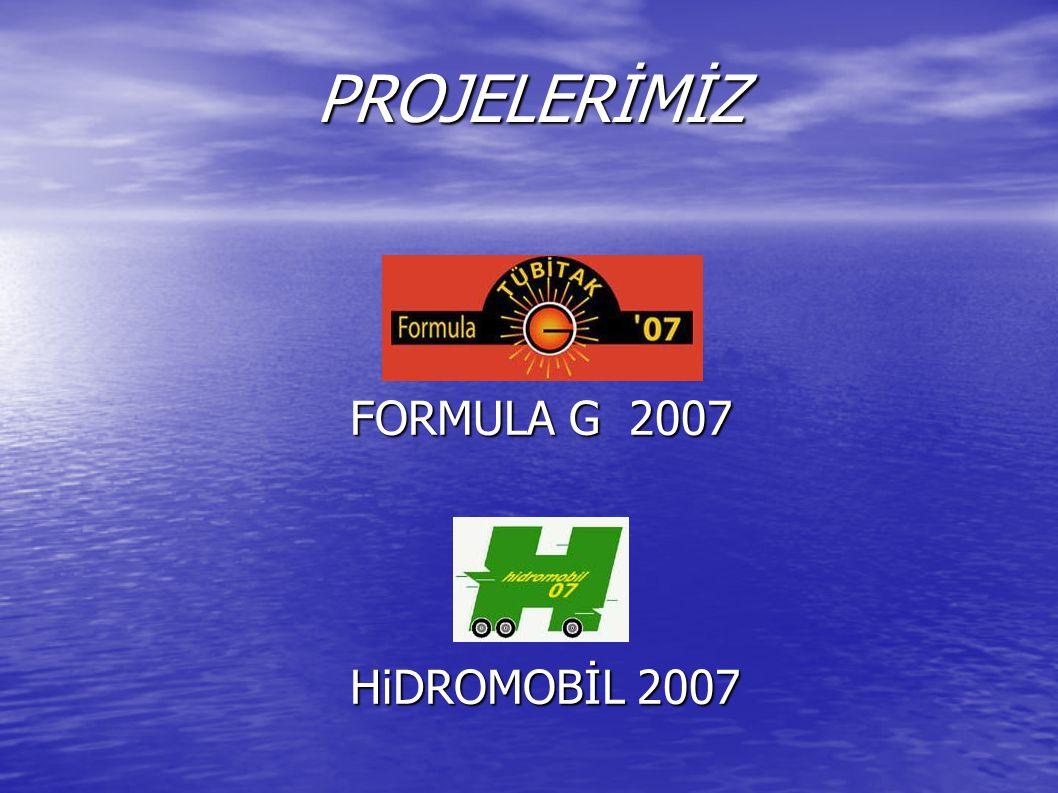 Formula G Projemiz ARACIMIZ