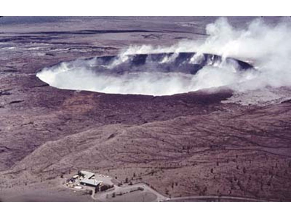Pyroclastic flow, August, 1986, flowing down valley from St.
