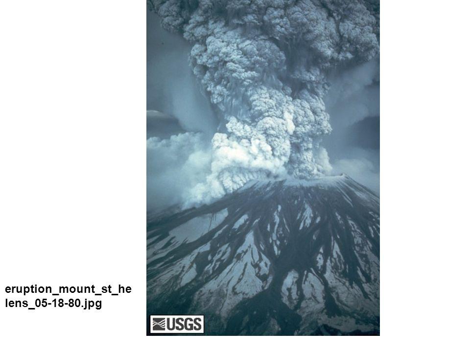 Blast surge dune from 18 May 1980 blast at Mount St.