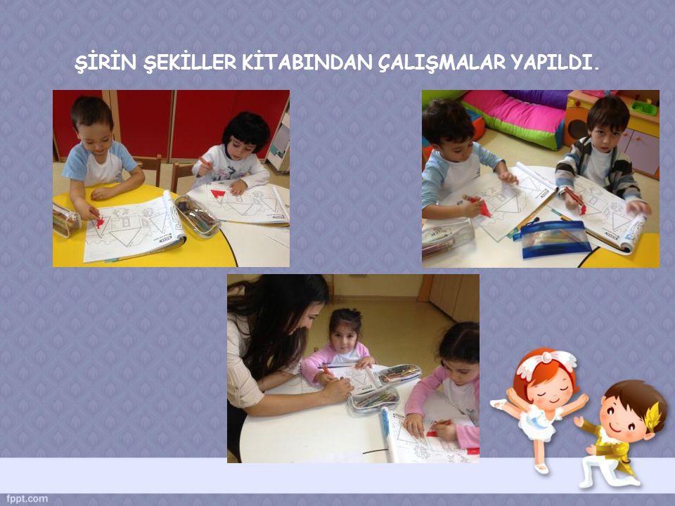 ŞEKİLLERİ YIRTMA _ YAPIŞTIRMA TEKNİĞİYLE DOLDURDUK