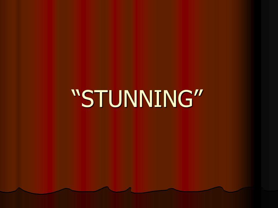 """""""STUNNING"""""""