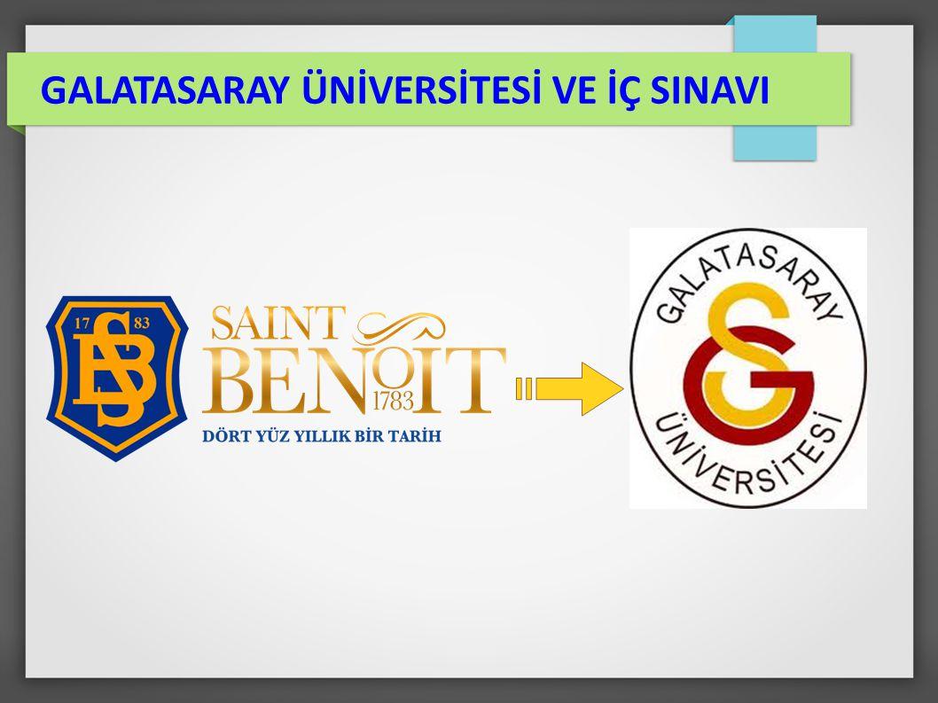 Fransa-Türkiye işbirliği anlaşması ile 1992 de kurulmuş olan, Frankofon (Fransızca konuşan / eğitim veren) Üniversite GALATASARAY ÜNİVERSİTESİ