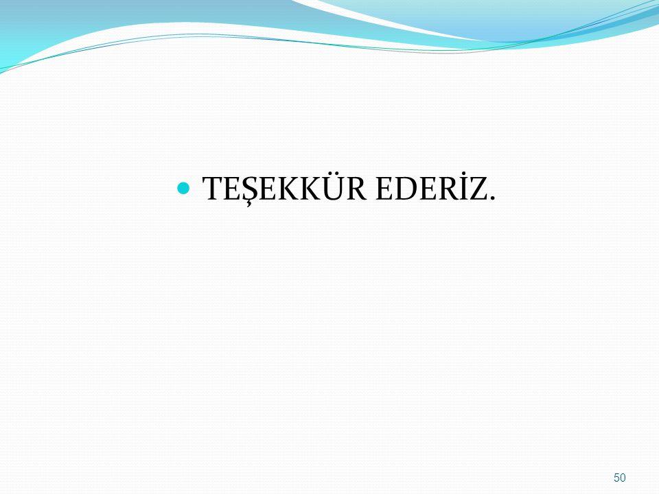 50  TEŞEKKÜR EDERİZ.
