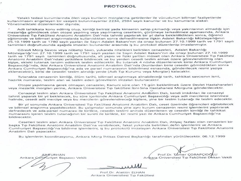 ADLİ TIP KURUMU KANUNUNDA DEĞİŞİKLİK YAPILMASI HAKKINDA KANUN •KANUN NO: 4810 •KABUL TARİHİ: 19/02/2003 •RESMİ GAZETE TARİHİ: 25/02/2003 •RESMİ GAZETE SAYISI: 25031 • •Madde 16 – Adli Tıp Kurumu Kanununun 17.maddesi kenar başlığı ile birlikte aşağıdaki şekilde değiştirilmiştir.