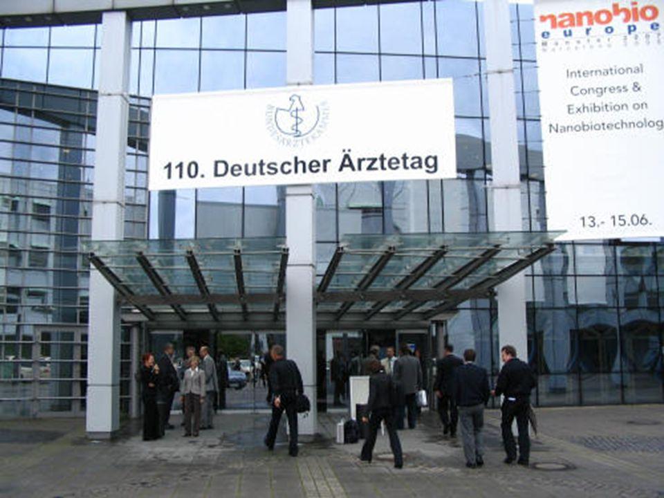110.Alman Tıp Günü •Münster / Westfalen'de Mayıs 2007'de yapılan 110.