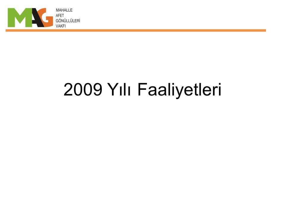 2009 Yılı Faaliyetleri