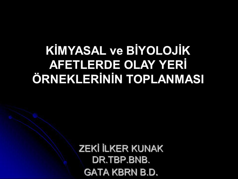 ZEKİ İLKER KUNAK DR.TBP.BNB.GATA KBRN B.D.