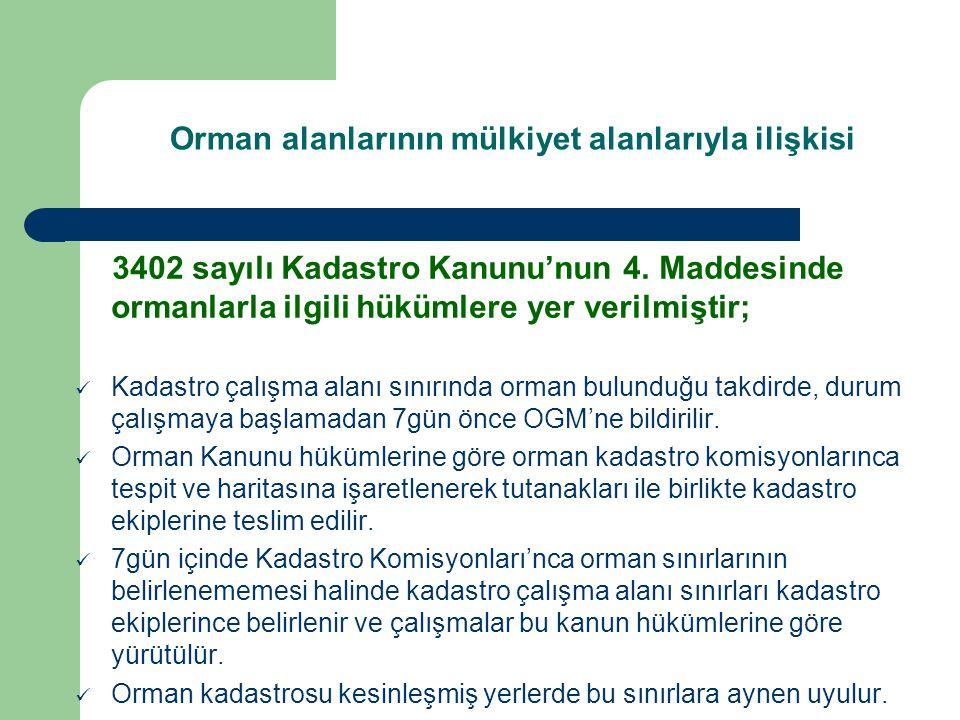 3402 sayılı Kadastro Kanunu'nun 4.