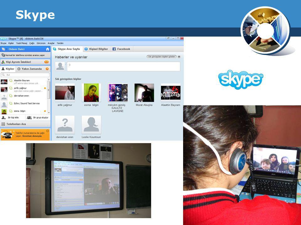 Company Logo Skype