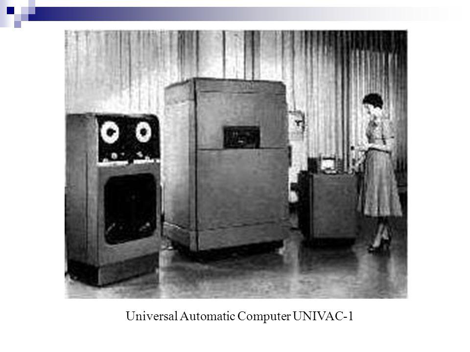 Universal Automatic Computer UNIVAC-1