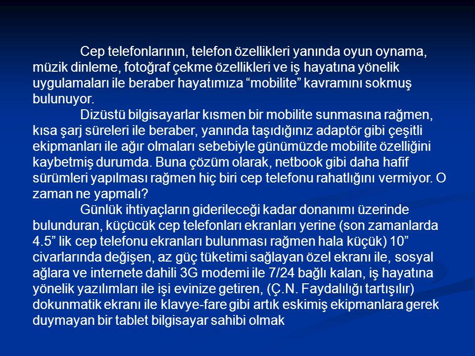 FREEBOOK P62W 3G 7 Touch Pad - Beyaz - İşletim Sistemi: Google Android 1.6 - İşlemci: VIA WM 8505+400MHz -Ekran: 7inch 800×480 pixels - dokunmatik -Renk: 262,114 renk -Ram: DDR2 128MB -Bellek: 2GB -Pil: Lithium-ion -Pil Ömrü: 2100mAH/7.4V(4 saat) -Giriş/Çıkış Gücü Input: AC 100-240V 50-60Hz -Çıkış: DC 9V/1A -Kablosuz İnternet: WIFI 802.11B/G -Usb: Usb Host X 1 -Dokunmatik Panel: TP -3G: External -Uygulama Yazılımı: Google chome- lite Browser, UCWEB Browser -Audio:/WMA/MPEG Audio -Video: MPEG4/MPEG2/MPEG1/3GP/DIVX/X VID -Photo: JPEG,GIF,TIFF FİYAT: 249.00 TL