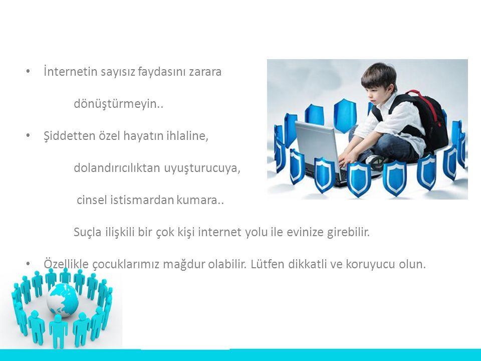 LÜTFEN SİTEMİZİ ZİYARET EDİNİZ İNTERNETİME GÜVENİYORUM GAMZEGÜL ENGİN İBRAHİM SOYSAL www.fatihforum1.wikispaces.com