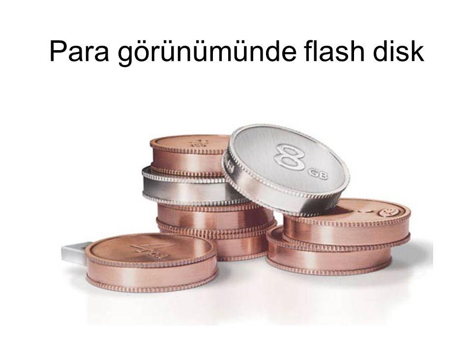 Para görünümünde flash disk