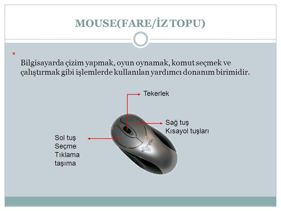 Bir resmi (dergi,gazete,kitap gibi dokümanlardaki resimleri)bilgisayara aktarmak için kullanılır.