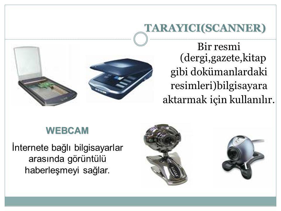 CD-WRİTER(CD-RW) CD deki bilgileri okunmasını ve de boş Cd lere bilgisayardan resim,bilgi,video yazdırılmasını sağlayan birimdir.