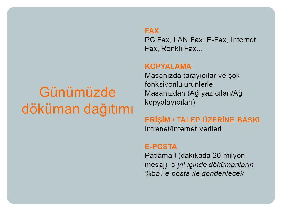 FAX PC Fax, LAN Fax, E-Fax, Internet Fax, Renkli Fax...