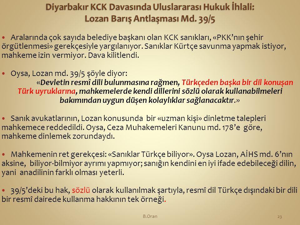  Aralarında çok sayıda belediye başkanı olan KCK sanıkları, «PKK'nın şehir örgütlenmesi» gerekçesiyle yargılanıyor.