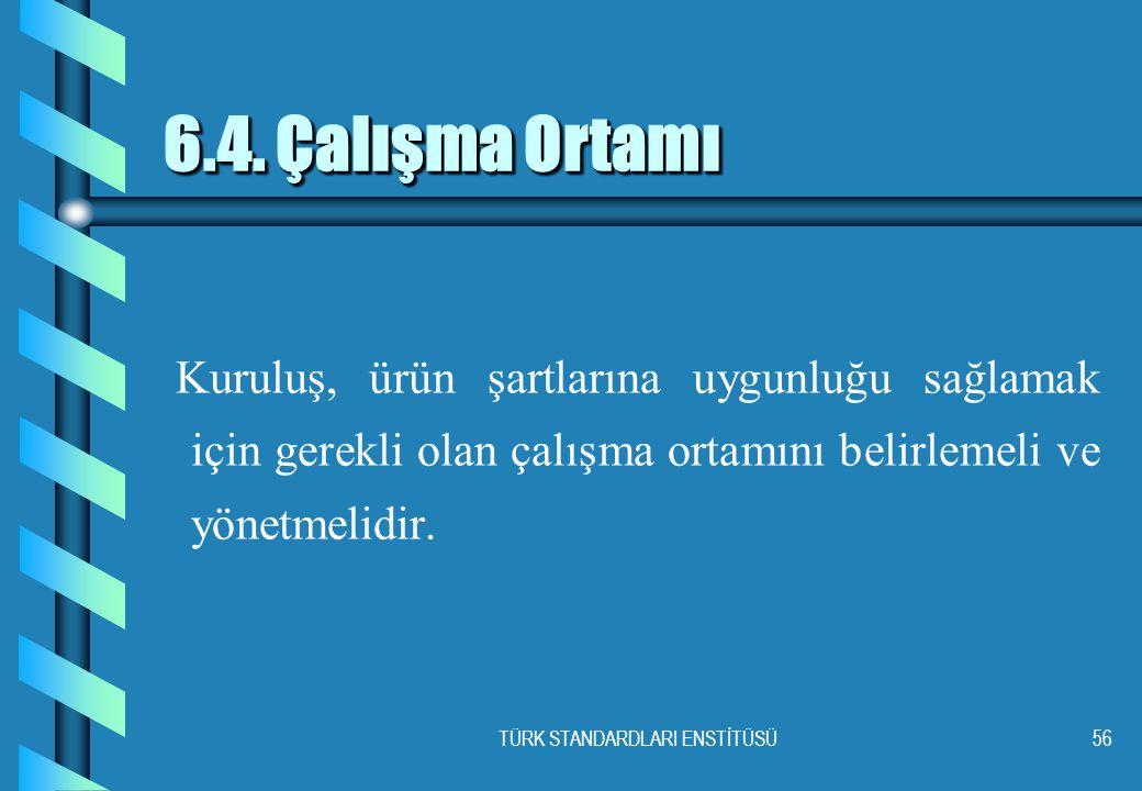 TÜRK STANDARDLARI ENSTİTÜSÜ56 6.4.