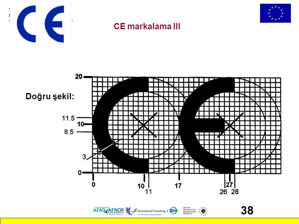 Yeni, Klasik ve Global Yaklaşımlar Seminerleri Avrupa Komisyonu tarafından desteklenen bir MEDA projesidir 38 CE markalama III Doğru şekil: