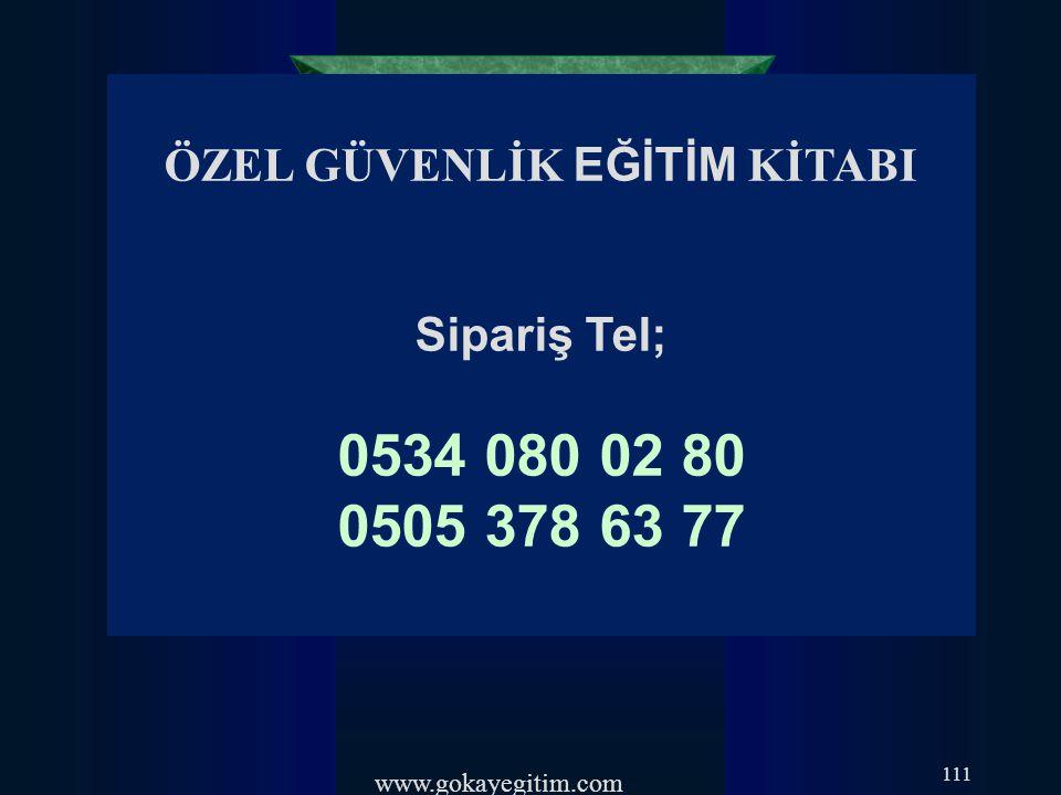 www.gokayegitim.com 112
