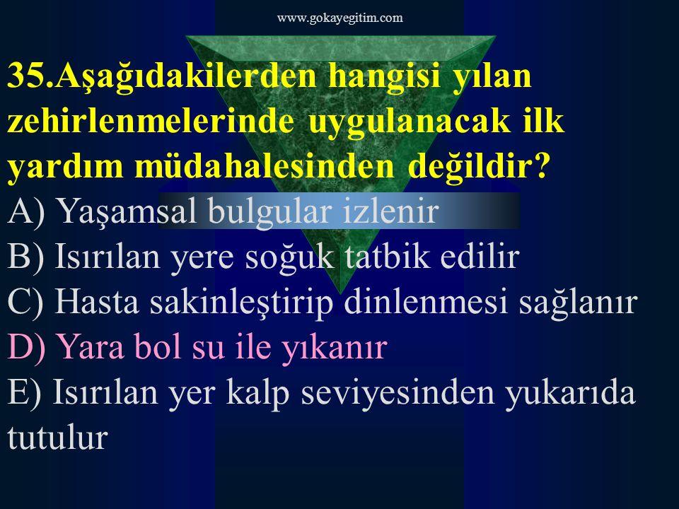 www.gokayegitim.com 36.I. Cenaze törenlerinde II.
