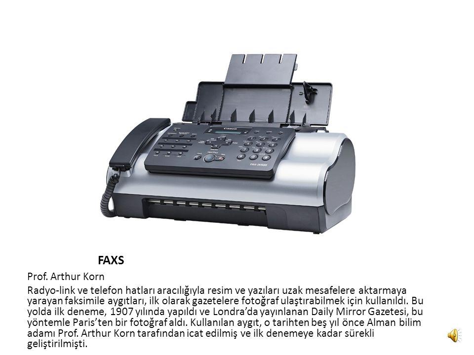 YAZICI Remington-Rand 1953 yılında Remington-Rand, geliştirdiği yüksek hızlı bilgisayar yazıcısını 'univac'adlı bir bilgisayara bağlayarak kullanmaya